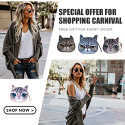 FREE GIFT SITEWIDE for Thrilling Shopping Carnival!