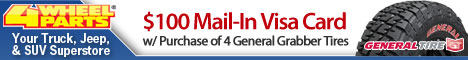 $100 Mail-In Visa w/ Purchase of General Grabber