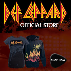 NEW Def Leppard '08 Event Tees