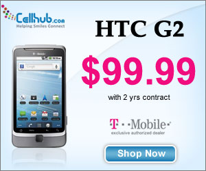 Buy HTC G2 with T-mobile 2 Year Plans