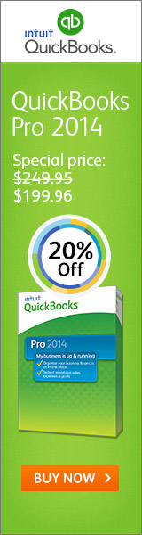 QuickBooks - Save up to 20% & Free Shipping