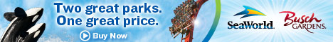 SeaWorld & Busch Gardens - Two parks. One deal.