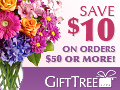 Save $10 on orders of $50 or more!