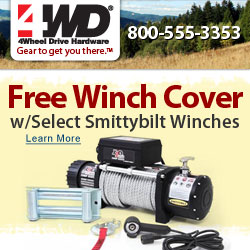 Free Winch Cover w/ Select Smittybilt Winches