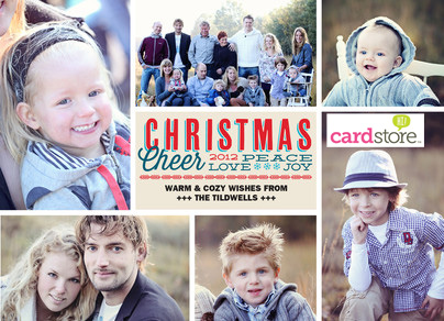 Cyber Monday Event! $0.39 Holiday Cards & Invitations + FREE Shipping at Cardstore, Use Coupon Code: