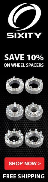 Wheel Spacers 10% - 160x600