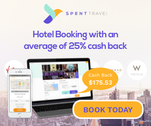 SPENT - Book Hotels. Earn Cash Back.