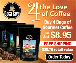 4 Bags of Coffee with FREE Shipping