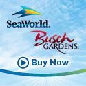SeaWorld & Busch Gardens - Two parks. One deal.