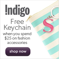 Free Monogram Keychain When You Spend $25 on Fashion Accessories!