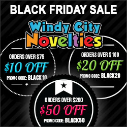 Black Friday Cyber Monday $50 Off $200 on Party Supplies and Decorations plus Free Shipping at Windy