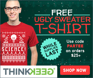 PARTEE Free Ugly Sweater T-Shirt with $25+