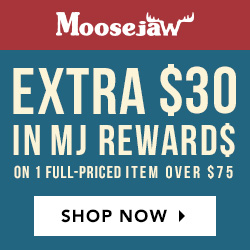 extra $30 in Moosejaw Dollars on a full-Priced Item over $75