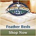 Browse Feather Beds at Pacific Coast Now!