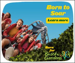 Spend a day at Busch Gardens Williamsburg