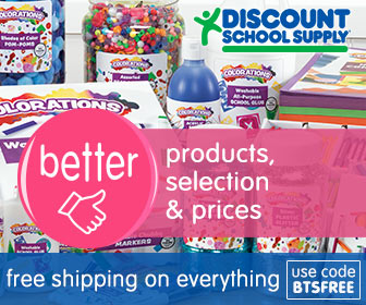 Image for BETTER PRODUCTS, SELECTION & PRICES ALL FREE SHIPPING, EVEN FURNITURE For Back To School At Discount School Supply! Use Code: BTSFREE At Checkout!