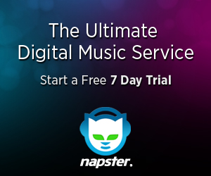Get 15 for $1with Napster!