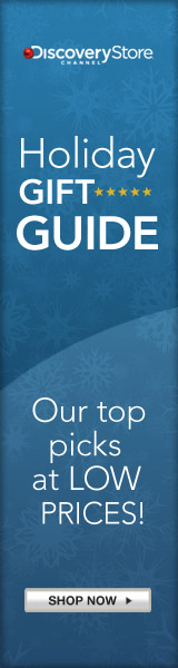 Discovery Channel Holiday Gift Guide - Shop Now!