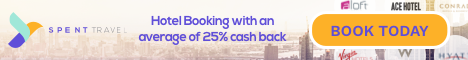 SPENT Travel - Hotel booking with cash back