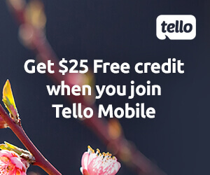 Pick a plan, any plan and you'll get $25 free account credit!