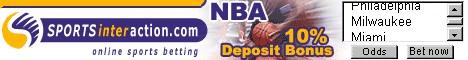 Basketball betting with Sports Interaction