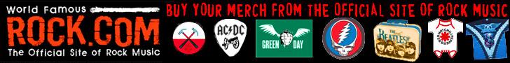 Get Rock Band T-Shirts & Merchandise from Rock.com