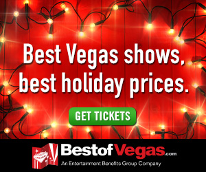 Best Vegas Shows, Best Holiday Prices.