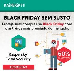 Antivírus Kaspersky com 30% de desconto!