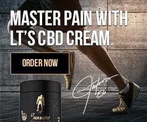Lawrence Taylor Pain Master CBD Cream