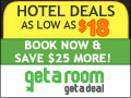 Hotels as low as $18