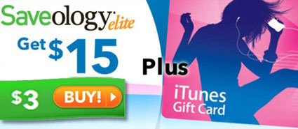 Saveology Elite & iTunes Gift Card