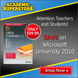 Adobe, Microsoft on sale at Academic Superstore