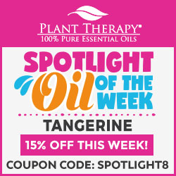 EXCLUSIVE! Get 15% Off Tangerine Oils at Plant Therapy! Use Code SPOTLIGHT8 and Save!