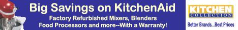 Save on KitchenAid Factory Refurbished