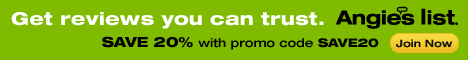 Try Angie's List!