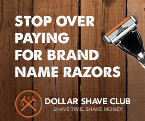 Dollar Shave Club: *HOT* 5 Razor Blade Cartridges + FREE Handle Only $3 Shipped