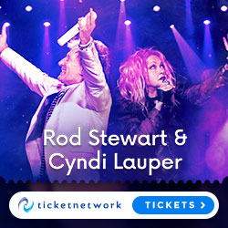 Rod Stewart & Cyndi Lauper Tickets
