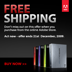 Adobe Free Shipping!