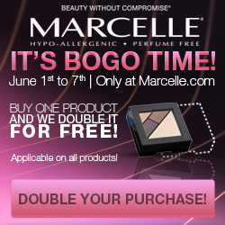 Buy one product and we double it for FREE. Hurry up! During June 1st - June 7th only!