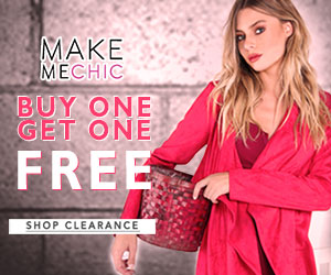 Buy 1, Get 1 Free on Clearance at MakeMeChic!  Valid until November 3rd