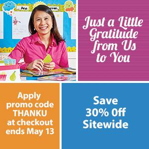 30% Off Teaching Supplies for Teacher Appreciation