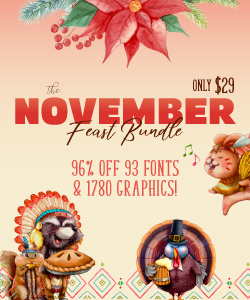 SALE!! 96% OFF Get The November Feast Bundle