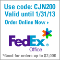 15% Off at FedEx Office