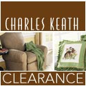 Clearance items on sale now at Charles Keath.