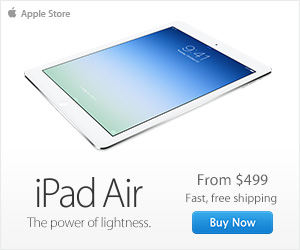 iPad Air. The power of lightness.