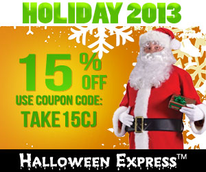 Santa Suits on Sale at Halloween Express