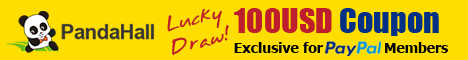 $100 Coupon, Exclusive for Paypal Members. Valid from Dec 1st~31st,2014 PST.