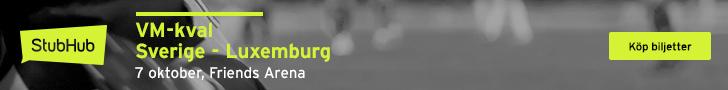 VM-kval Sverige - Luxemburg