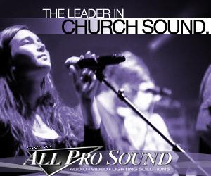 Sound Systems for Worship Ministry