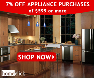 5% OFF Appliance Purchases of $499 or More!